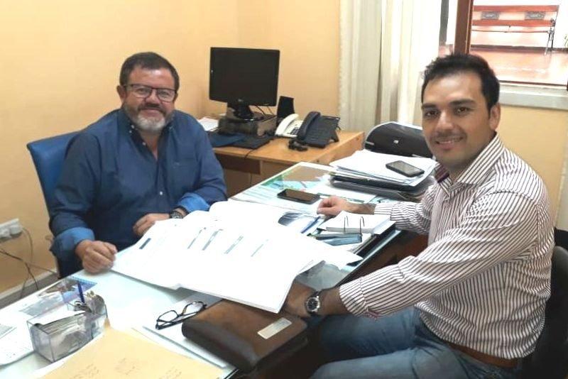 Catriel25Noticias.com gonzales-claudio-viedma González gestiona en Viedma por asfalto y ampliación del Registro Civil Destacadas PROVINCIALES