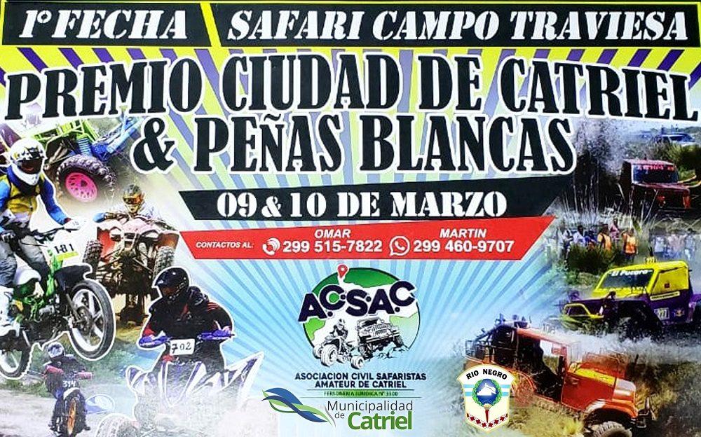 """Catriel25Noticias.com afiche-safari-1er-fecha19 Se viene la primera fecha del Safari Campo Traviesa, premio """"Ciudad de Catriel y Peñas Blancas"""" DEPORTES"""