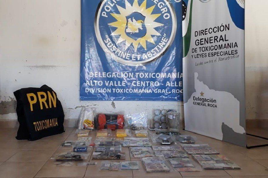 Catriel25Noticias.com droga-roca2 Gral Roca. Otro fuerte golpe al narcotráfico Destacadas PROVINCIALES