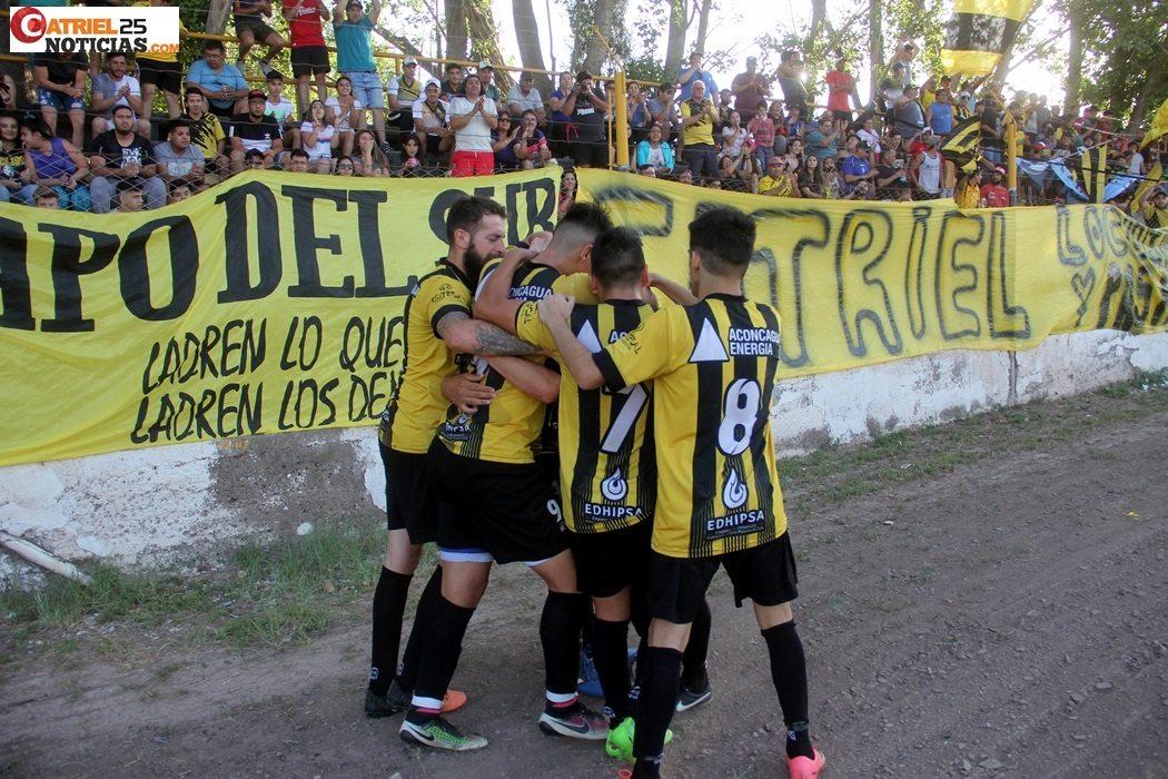 Catriel25Noticias.com festejo-gol-depo La Depo lista para debutar frente a La Amistad en el Federal B DEPORTES Destacadas