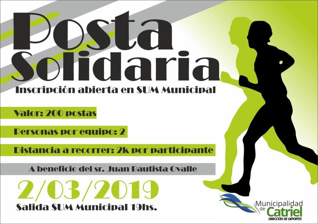 Catriel25Noticias.com thumbnail_posta-solidaria-1024x724 ¡Sumate a la Posta Solidaria! DEPORTES