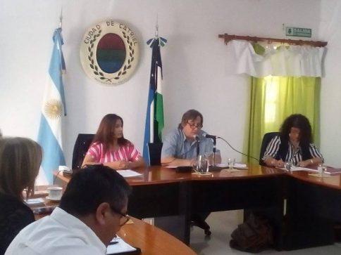 Catriel25Noticias.com concejo-2019-484x363 Johnston realizó apertura de sesiones ordinarias del Concejo Deliberante Destacadas LOCALES