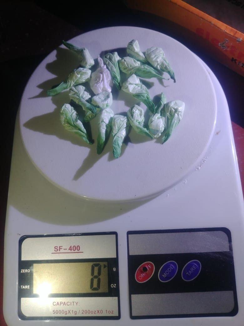 Catriel25Noticias.com droga-25-4 25 de Mayo. Atrapan a joven vendiendo cocaína y marihuana Destacadas LOCALES