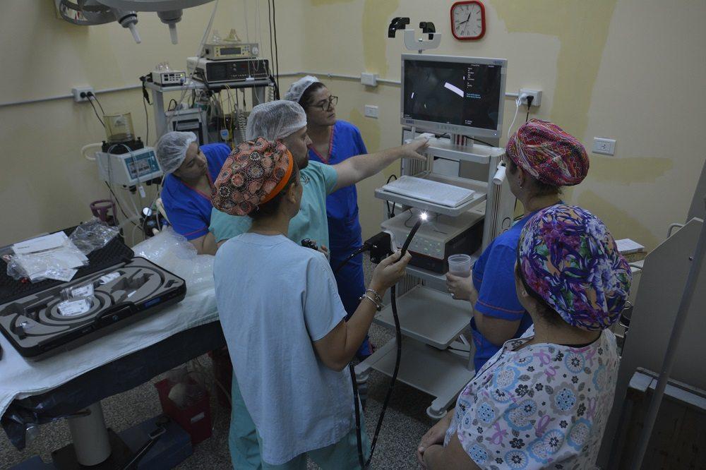 Catriel25Noticias.com MUN6074 Llegó al Hospital de Catriel el sistema de Video-Colonoscopía Destacadas LOCALES