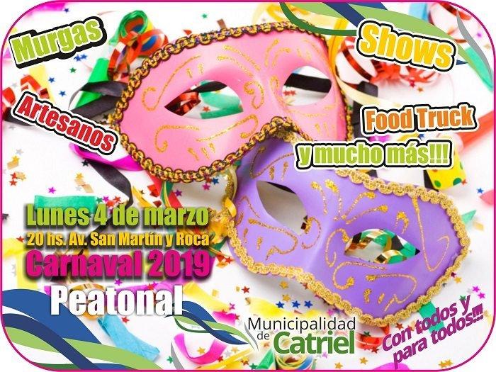Catriel25Noticias.com carnaval Viví el carnaval en Catriel LOCALES