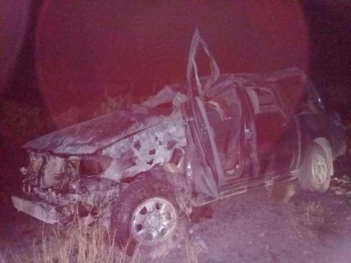 Catriel25Noticias.com hilux25 25 de Mayo. Tremendo accidente. Un hombre resultó con heridas graves Destacadas LOCALES