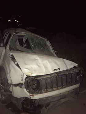 Catriel25Noticias.com jeep1 Ruta 151. Viajaba a Catriel, se durmió y volcó. Resultó con graves heridas Destacadas LOCALES