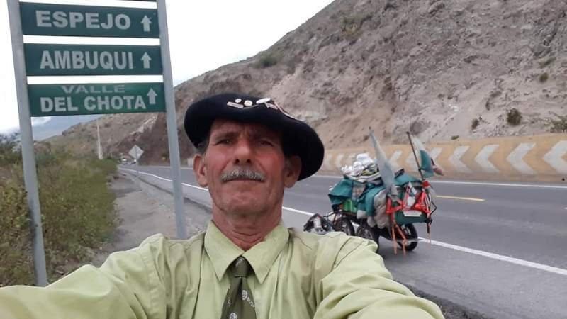 Catriel25Noticias.com kuky-panama Camina de Ushuaia a Alaska y ya está en Panamá Destacadas NACIONALES SOCIEDAD