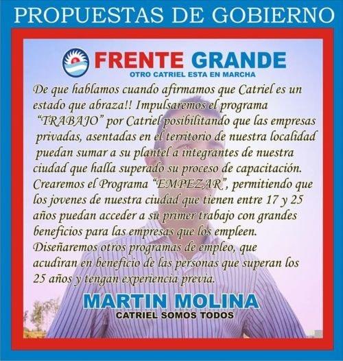 Catriel25Noticias.com martin-molina1-345x363 Catriel elige 2.019. Candidatos sobran Destacadas LOCALES
