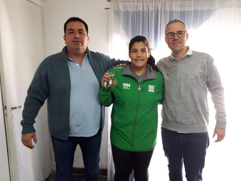Catriel25Noticias.com miranda Milagros Miranda campeona en Judo en los Juegos Epade 2019 DEPORTES