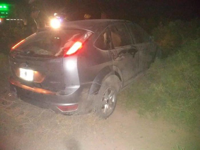 Ruta 151. Viajaba hacia Neuquén y sufrió un accidente de tránsito