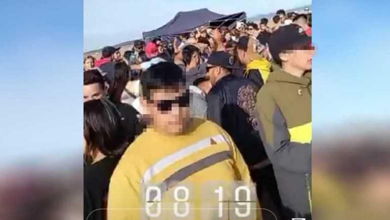 """Indignación por una fiesta clandestina en lago """"Los Barreales"""""""