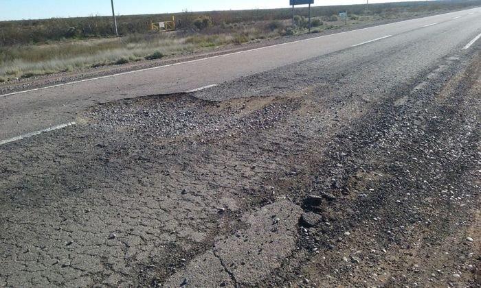 Anuncian otra vez la reparación de la ruta 151, en territorio Pampeano