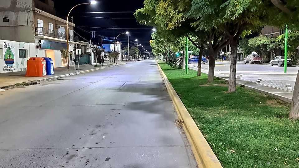 Habrá toque de queda nocturno en Río Negro