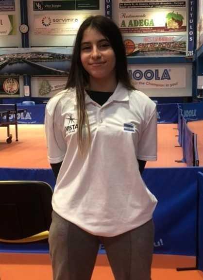 Tenis de Mesa-Manu Pereyra regresó de Portugal tras su preparación