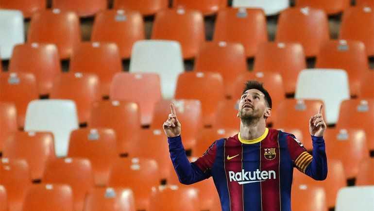 Barcelona: el doblete de Messi para el triunfo en una Liga que arde