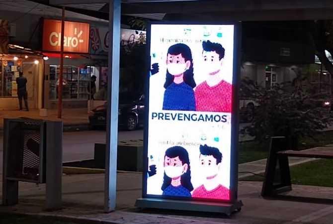 Municipio de Catriel realiza campaña contra el Coronavirus