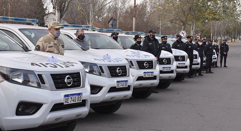 25 de Mayo recibió un nuevo móvil policial
