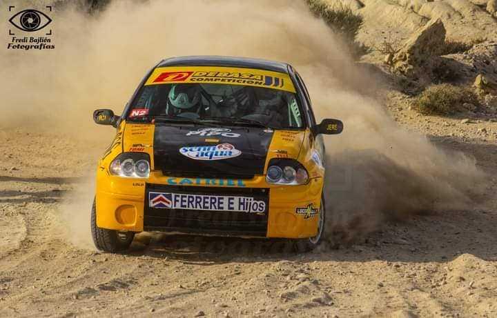 En la vuelta al Regional de Rally, Mauro Debasa estuvo imparable