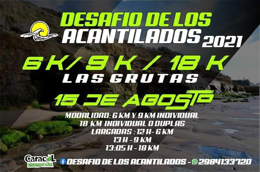 """El """"Desafío a los Acantilados"""" tuvo presencia Catrielense en Las Grutas – Catriel25Noticias.com"""