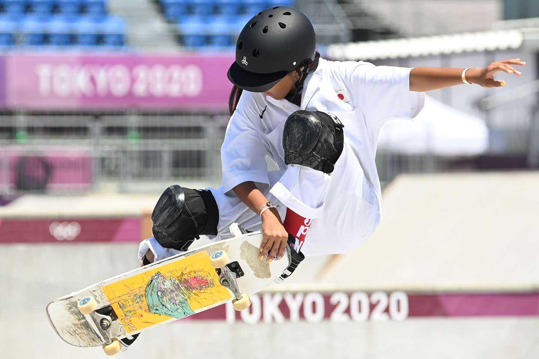 El hito de Kokona Hiraki: tiene 12 años y es la medallista olímpica