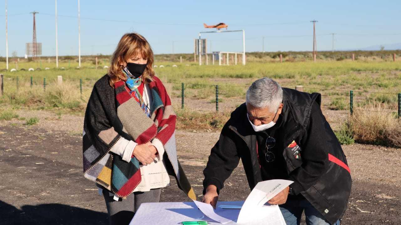 Fuerte apoyo y acompañamiento de Municipio y Provincia sobre el proyecto del Aeródromo