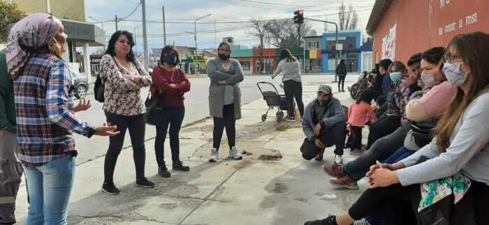 Solidaridad con las familias del barrio Costanera e inicio del RENABAP 2021