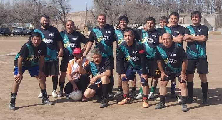 Con los campeones confirmados se disputó una nueva fecha de la Liga de Veteranos – Catriel25Noticias.com