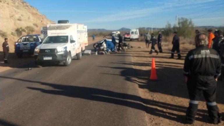 Choque fatal en Rincón: un muerto y cuatro heridos – Catriel25Noticias.com