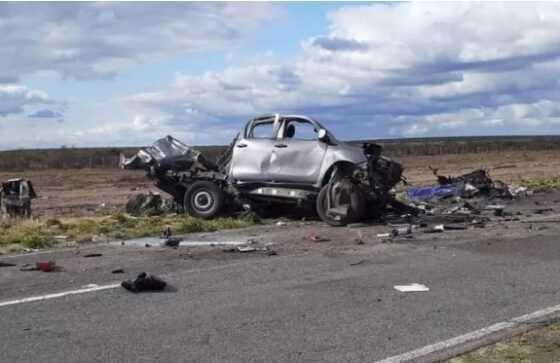Esta tarde: Dos muertos por un choque en la Ruta Provincial 20 – Catriel25Noticias.com