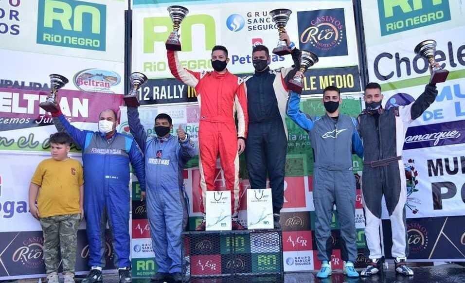 Rally de Beltrán-Los Catrielenses Giuliano y Debasa en el podio de la N2 – Catriel25Noticias.com